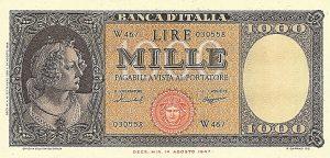 La Banconota: Carta Geografica del Paese di Miseria